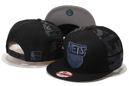 Brooklyn Nets Snapback Black Hat GS 0620